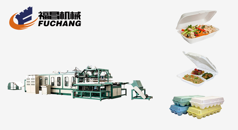 Fully Auto Forming Machine with Robot Hand(FC-1100/1250)