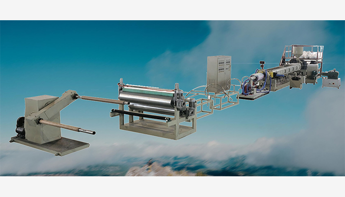 Features EPE Foam Sheet Extruder Line: