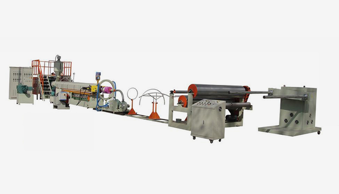 Principle of EPE Foam Sheet Extruder Line: